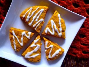 Pumpkin Baking Vegan Scones