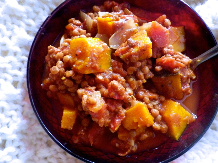 Kabocha Chili and Curry